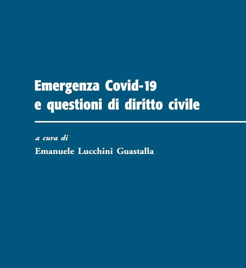 Emergenza Covid-19 e questioni di diritto civile.