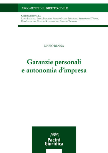 Garanzie personali e autonomia d'impresa